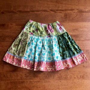 Matilda Jane Platinum Skirt Size 6